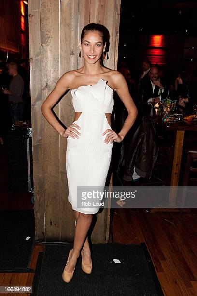 Dayana Mendoza attends the preparty for Stand Up For a Cure at Madison Square Garden on April 17 2013 in New York City