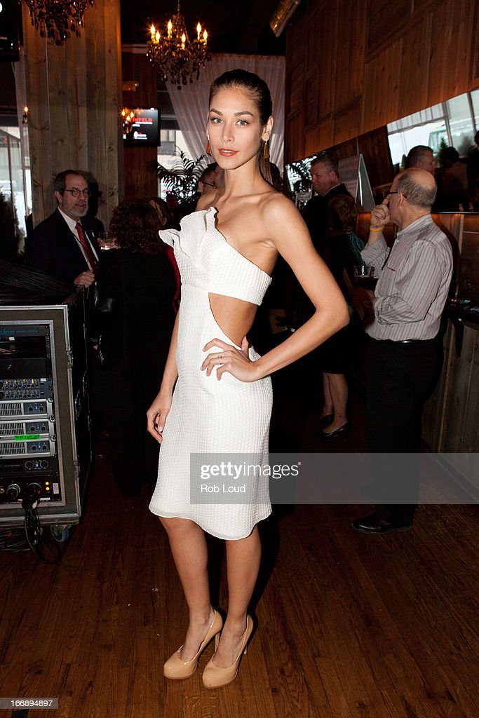 Dayana Mendoza attends the pre-party for Stand Up For a Cure at Madison Square Garden on April 17, 2013 in New York City.