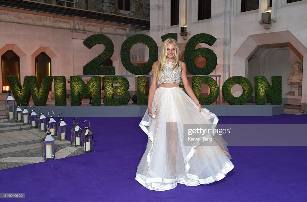 Dayana Yastremska attends the Wimbledon Winners Ball at The Guildhall on July 10, 2016 in London, England.