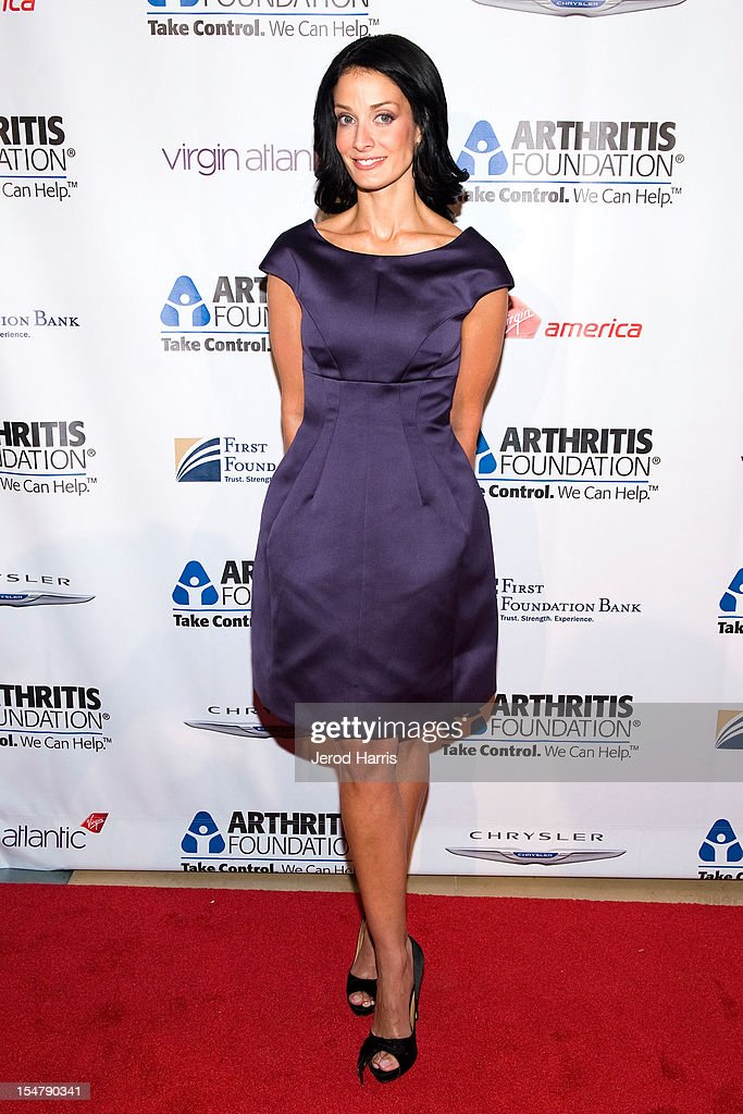 Dayanara Torres arrives at the Arthritis Foundation's annual gala at The Beverly Hilton Hotel on October 25, 2012 in Beverly Hills, California.