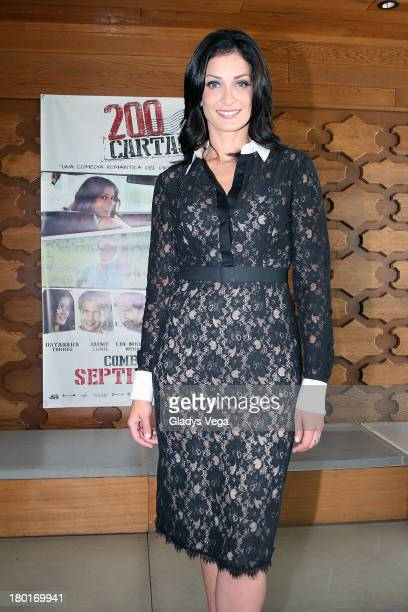 Dayanara Torres attends the 200 Cartas Press Conference on September 9 2013 in San Juan Puerto Rico