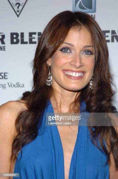 Dayanara Torres during Blender 2004 MTV VMA PreParty Hosted by Pharrell Williams and Chad Hugo at Nobu in Miami Beach Florida United States