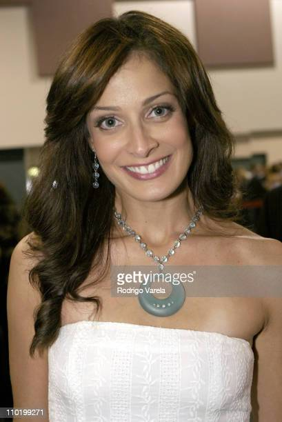 Dayanara Torres during Ednita Nazario in Concert Backstage July 3 2004 at Jackie Gleason Theatre in Miami Beach Florida United States