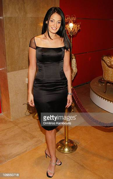 Dayanara Torres during MercedesBenz Fashion Week Fall 2003 Collections Reem Acra Boutique Opening at Reem Arca Boutique in New York NY United States