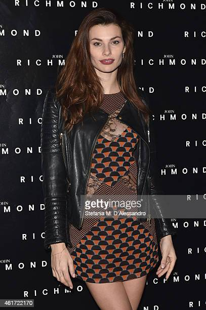 Dayane Mello attends the John Richmond Show during the Milan Menswear Fashion Week Fall Winter 2015/2016 on January 18 2015 in Milan Italy