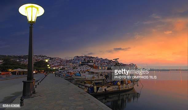 Daybreak at Skopelos