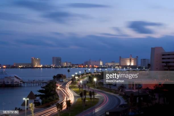 Tagesanbruch-Cancun