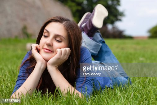 Daydreaming : Foto de stock