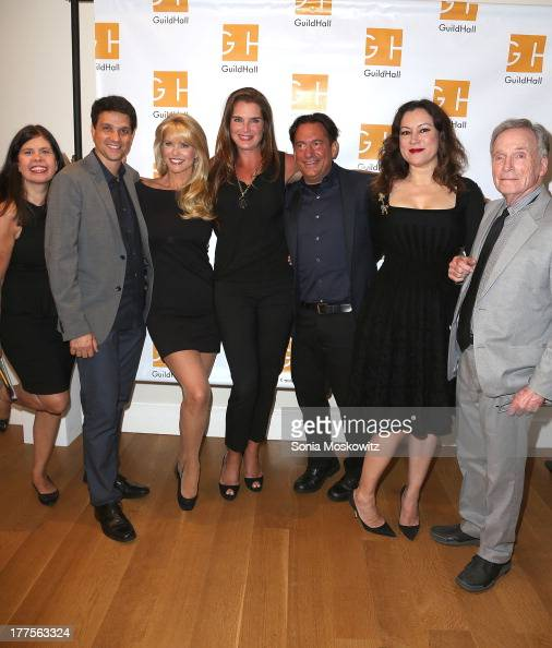 Dayle Reyfel Ralph Macchio Christie Brinkley Brooke Shields Eugene Pack Jennifer Tilly and Dick Cavett attend Celebrity Autobiography at Guild Hall...