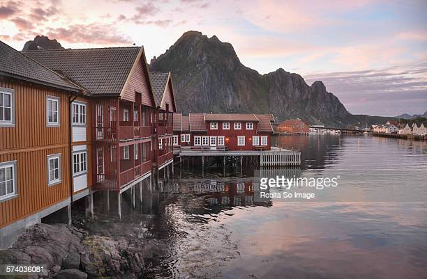 Daylight at midnight, Svolvær, Norway