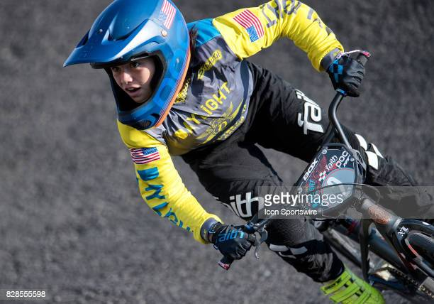 Daylight Cycle Co's Jordyn Miranda took the 1112 Mixed Open and 11 Girls class wins at the USA BMX Mile High Nationals on August 6 at Grand Valley...