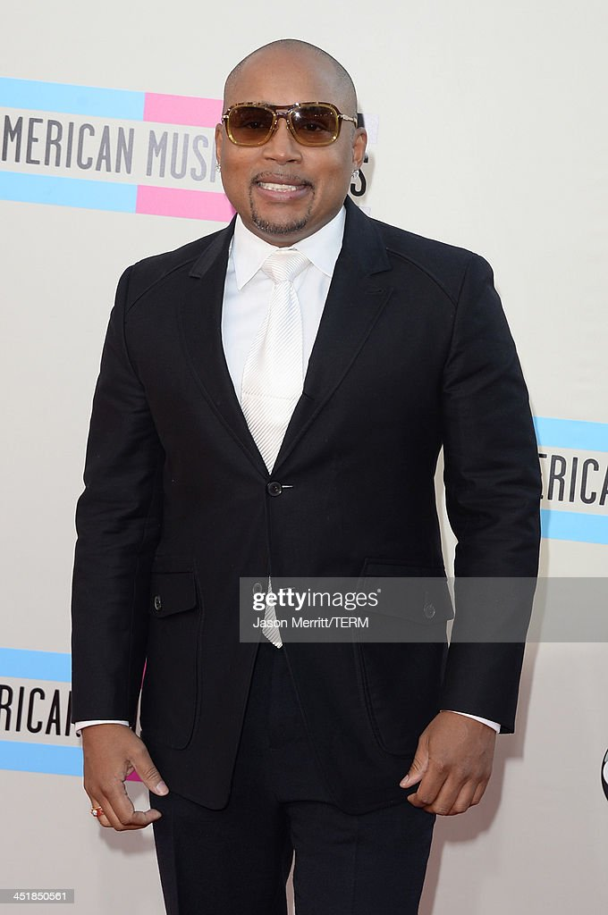 Daymond John attends the 2013 American Music Awards at Nokia Theatre L.A. Live on November 24, 2013 in Los Angeles, California.