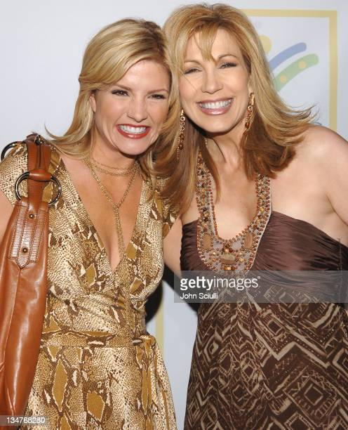 Dayna Devon and Leeza Gibbons during Grand Opening Of The Assistance League 'Leeza's Place' In Hollywood in Los Angeles CA United States