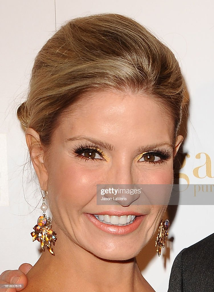 Dayna Devon attends OK! Magazine's pre-Grammy event at Sound on February 7, 2013 in Hollywood, California.