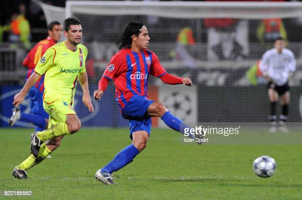 Dayro MORENO Lyon / Steaua Bucarest 1er tour Champions League