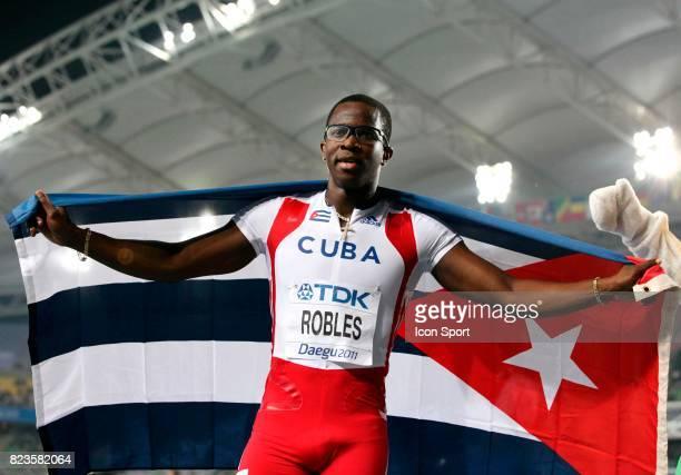Dayron Robles Finale 110m Haies Championats du Monde d Athletisme 2011 Daegu