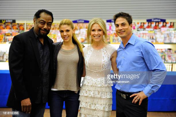 'Days of Our Lives' cast members James Reynolds Kate Mansi Melissa Reeves and Bryan Dattilo visit BooksAMillion in Greenville South Carolina on...