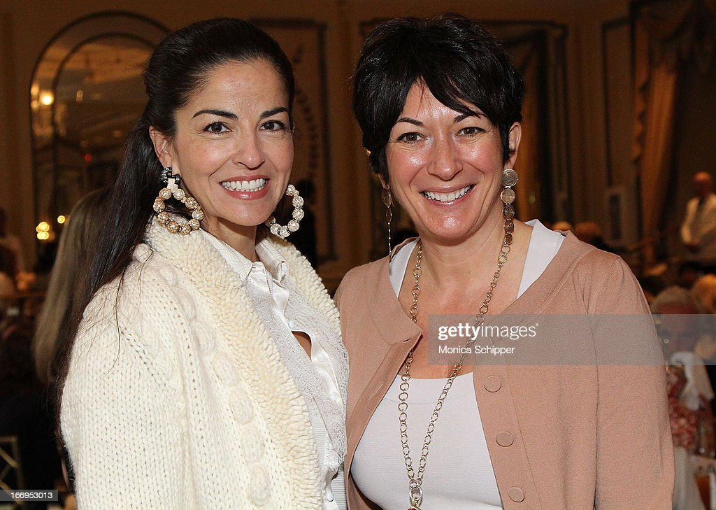Dayssi Olarte de Kanavos and Ghilane Maxwell attend The New York Society For The Prevention Of Cruelty To Children's 2013 Spring Luncheon at The Pierre Hotel on April 18, 2013 in New York City.