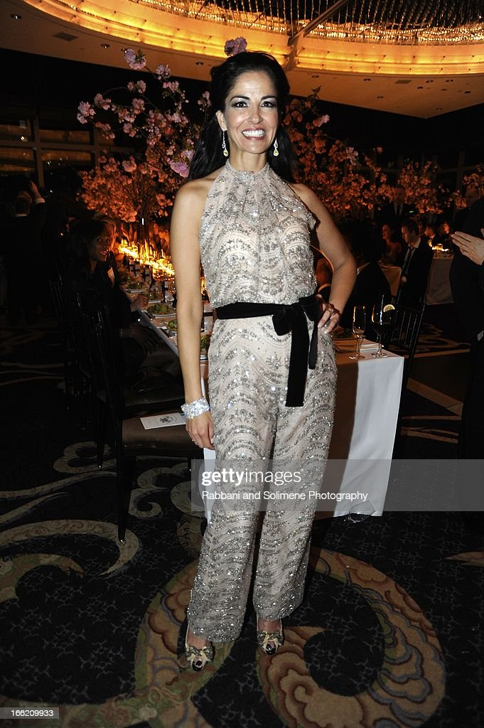 Dayssi Olarte de Kanavos attends the New Yorker's For Children's 10th Anniversary A Fool's Fete Spring Dance at Mandarin Oriental Hotel on April 9, 2013 in New York City.