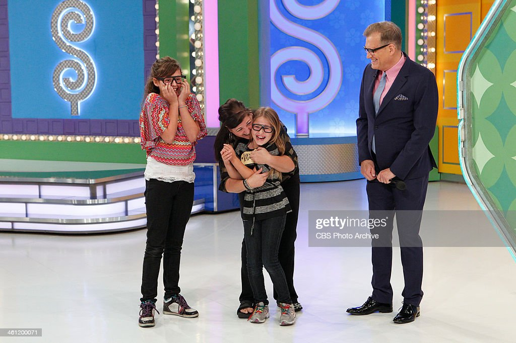 Daytime Emmy Award-winning game show THE PRICE IS RIGHT and host Drew Carey invite kids to 'come on down' in the second ever kids episode on Friday, December 27 (11:00 - 12:00 Noon, ET; 10:00 - 11:00 AM, PT). The kids will have a chance to play a pricing game with their parents and win prizes the whole family can enjoy including a Hawaiian vacation, a trampoline, bicycles and frozen yogurt and movie tickets for a year.