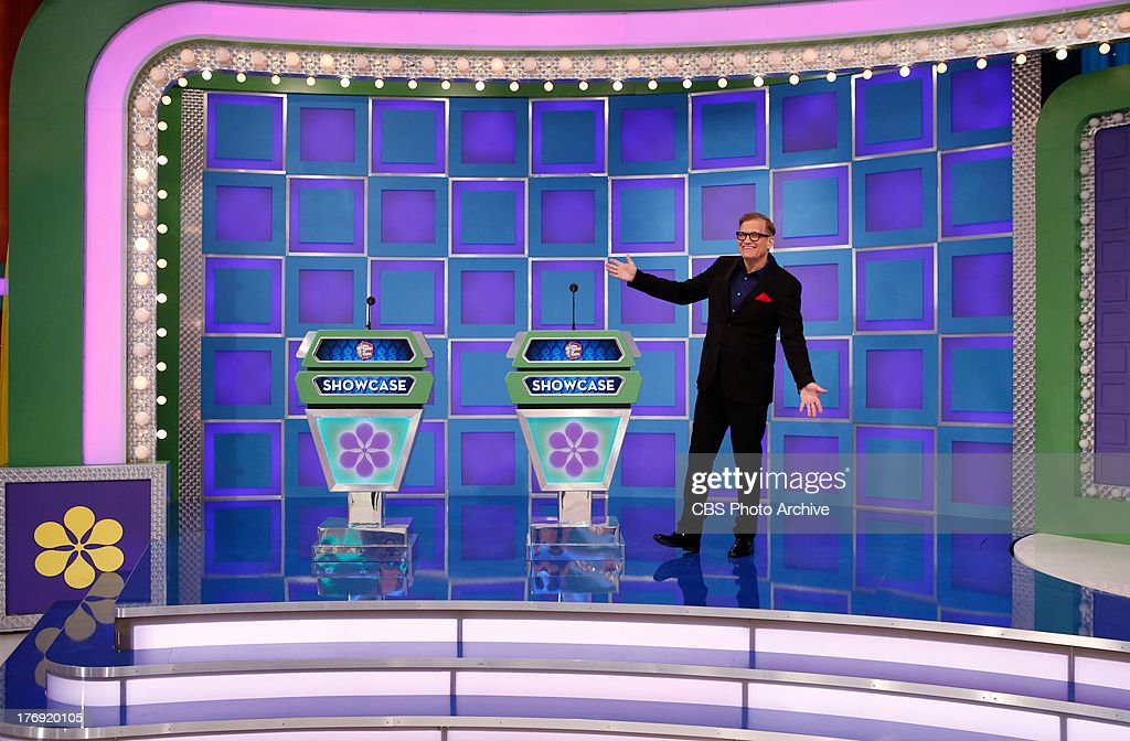 Daytime Emmy Award-winning game show THE PRICE IS RIGHT, daytime's #1-rated series and the longest-running game show in television history, will reveal several new set elements on its 42nd season premiere, Monday, September 23 (1:00 AM-12:00 Noon, ET; 10:00-11:00 AM, PT). The iconic set will include enhanced lighting and effects around the doors, a new look for the Showcase Showdown podiums, and the main stage area updated with new glass floor, stairs, and lighting. Pictured is Drew Carey