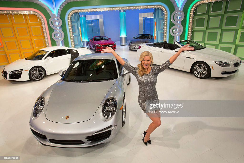Daytime Emmy Award-winning game show THE PRICE IS RIGHT, daytime's #1-rated series and the longest-running game show in television history, will feature its first ever 'Dream Car Week,' beginning Monday, Nov. 18, (11:00 AM-12:00 Noon, ET; 10:00-11:00 AM, PT) on the CBS Television Network. Model Rachel Reynolds is shown.