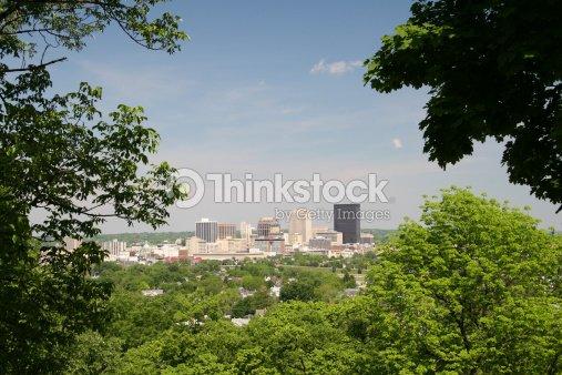 Dayton Cityscape Skyline 1, Dayton, Ohio : Stock Photo