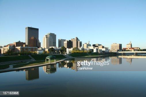 Dayton Morning Cityscape