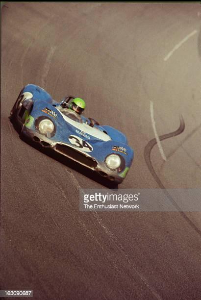 Daytona 24 Hour Race JeanPierre Beltoise and Henri Pescarolo of Matra Sports drive their Matra MS650