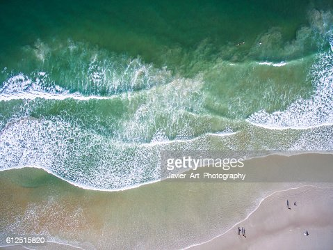 Daytona Beach from the air : Stock Photo