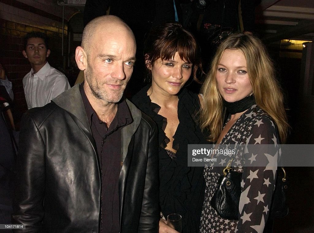 On The Other Side Of The Lens Exhibition (proceeds Go The The Red Cross), At The Tram Studios In Arlington Road, Camden, London, Michael Stipe, Helena Christensen And Kate Moss
