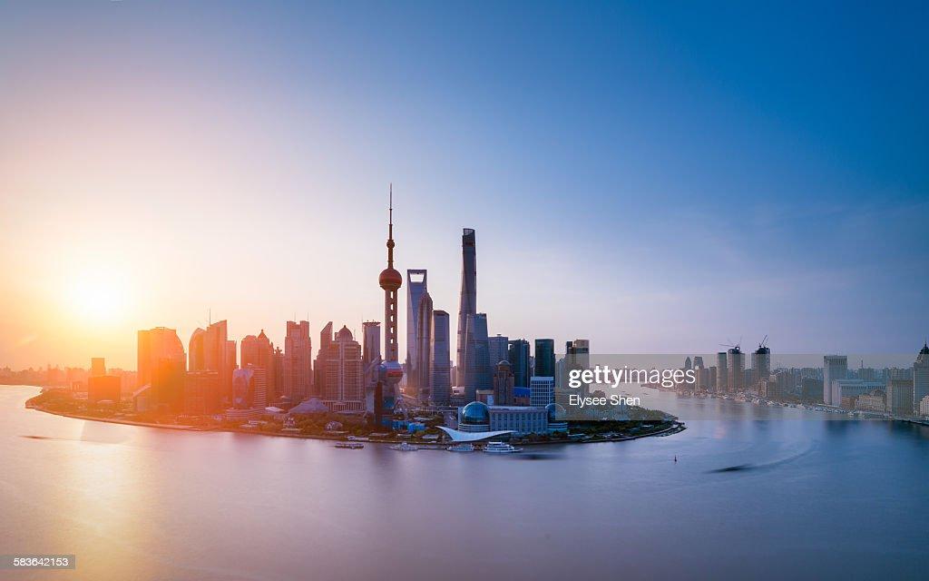 dazzle morning, Shanghai.