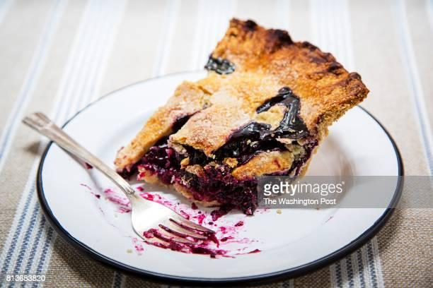 Dorie Greenspan's Blueberry Pie