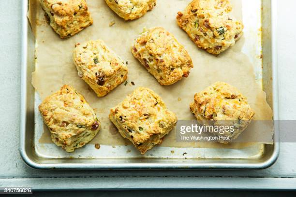 Cheddar Pancetta and Spring Onion Scones
