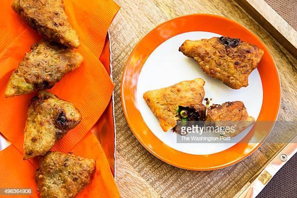 Honey Potato Samosas