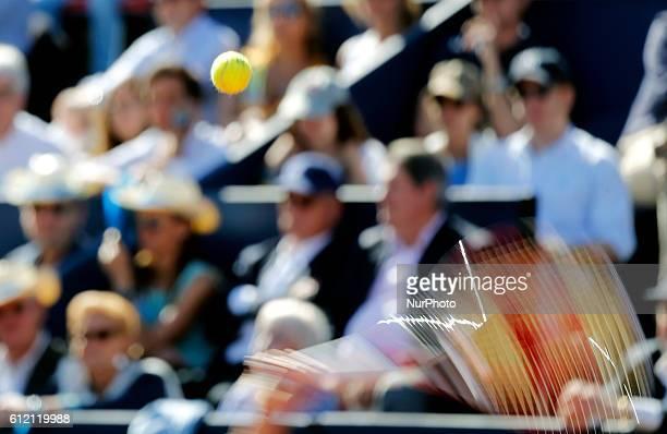 partido final entre Nishikori y Giraldo correspondiente al Barcelona Open Banc Sabadell 62 Trofeo Conde de Godo disputado en las instaciones del RC...