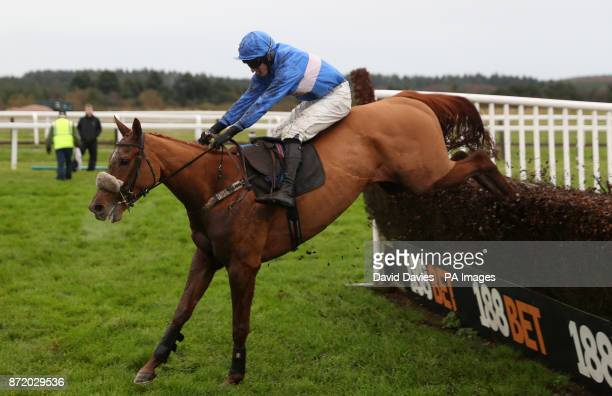 De Dollar Man ridden by Adam Wedge during 188 Bet Haldon Gold Cup Day at Exeter Racecourse