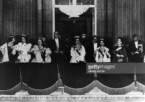De Gaulle Charles *22111890Politiker General FrankreichStaatspraesident von 19591969 Staatsbesuch in Grossbritanniennach einem Galadiner zu Ehren...