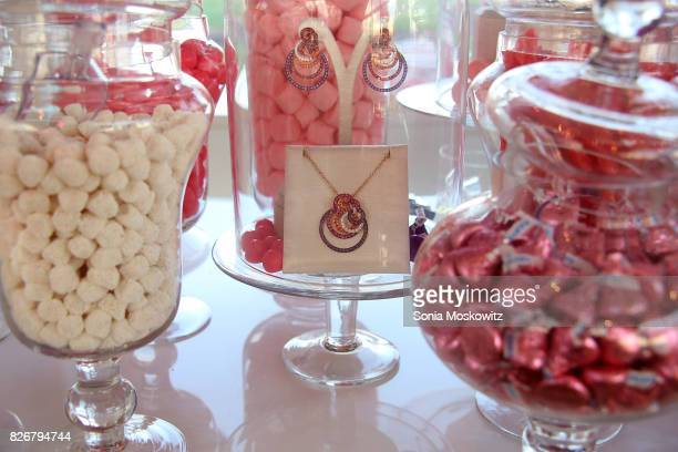 De Grisogono jewelry display at the Hamptons Paddle and Party for Pink to benefit the Breast Cancer Research Foundationon August 5 2017 at Fairview...