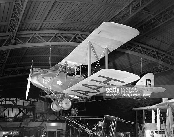 De Havilland Gipsy Moth aeroplane 'Jason I' Aeronautics Gallery Science Museum London 1961 This is the aeroplane flown by Amy Johnson on her historic...