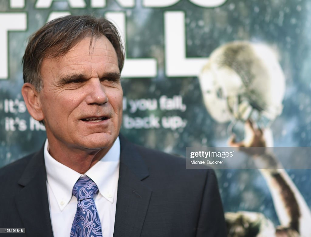 De La Salle Coach Bob Ladouceur arrives at the premire of Tri Star Pictures' ' When The Game Stands Tall' at the ArcLight Cinemas on August 4, 2014 in Hollywood, California.