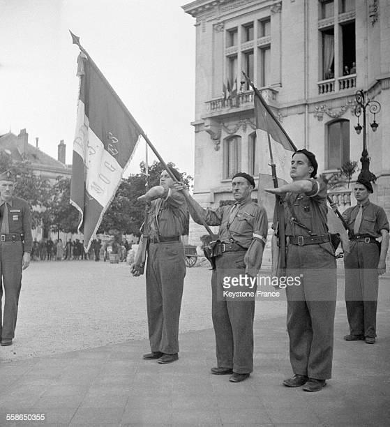 FFI de Limoges à Vichy France circa 1940
