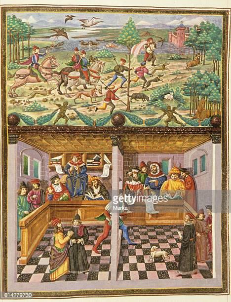 De sphaera treatise on astrology cristoforo de Predis 1470