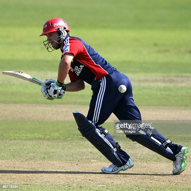 AB de Villiers in action during the IPL T20 match between Chennai Super Kings and Delhi Daredevils from Sahara Park on April 23 2009 in Durban South...