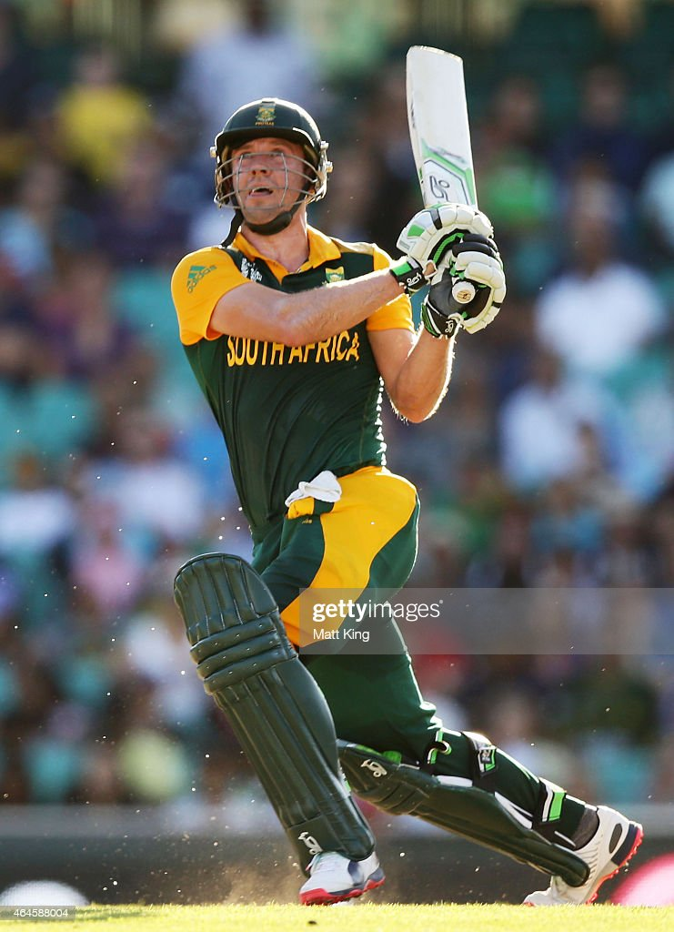 Villiers South Africa  city pictures gallery : AB de Villiers of South Africa bats during the 2015 ICC Cricket World ...