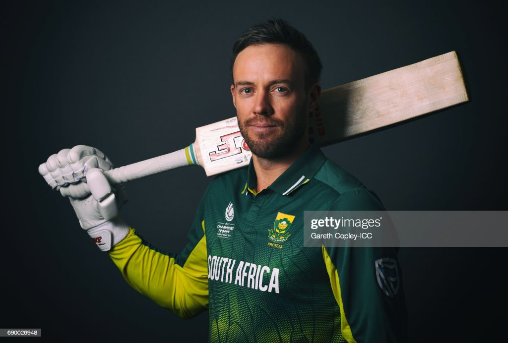 ICC Champions Trophy - South Africa Portrait Session