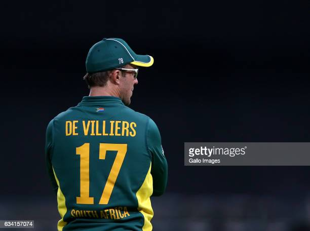 AB de Villiers of the Proteas during the 4th ODI between South Africa and Sri Lanka at PPC Newlands on February 07 2017 in Cape Town South Africa
