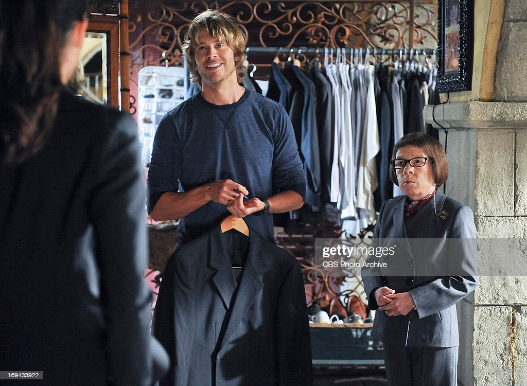 <a gi-track='captionPersonalityLinkClicked' href=/galleries/search?phrase=Eric+Christian+Olsen&family=editorial&specificpeople=549583 ng-click='$event.stopPropagation()'>Eric Christian Olsen</a> (LAPD Liaison Marty Deeks) and <a gi-track='captionPersonalityLinkClicked' href=/galleries/search?phrase=Linda+Hunt&family=editorial&specificpeople=2613145 ng-click='$event.stopPropagation()'>Linda Hunt</a> (Henrietta 'Hetty' Lange). The