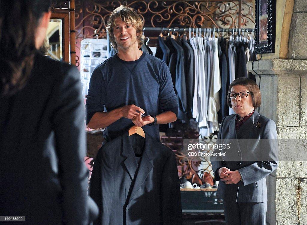 'Dead Body Politic' Pictured (L-R): Eric Christian Olsen (LAPD Liaison Marty Deeks) and Linda Hunt (Henrietta 'Hetty' Lange). The