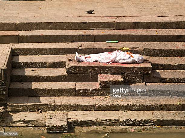 Dead body to be cremated,Pashupatinath
